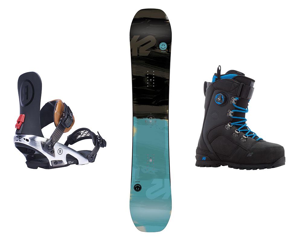 Qué material o tabla de snowboard comprar? Montaña Y Esqui