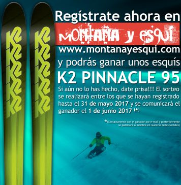 sorteo K2 Pinnacle 95