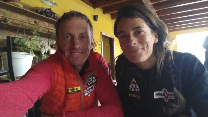 """Denis Urubko y María José Cardell """"Pipi"""""""
